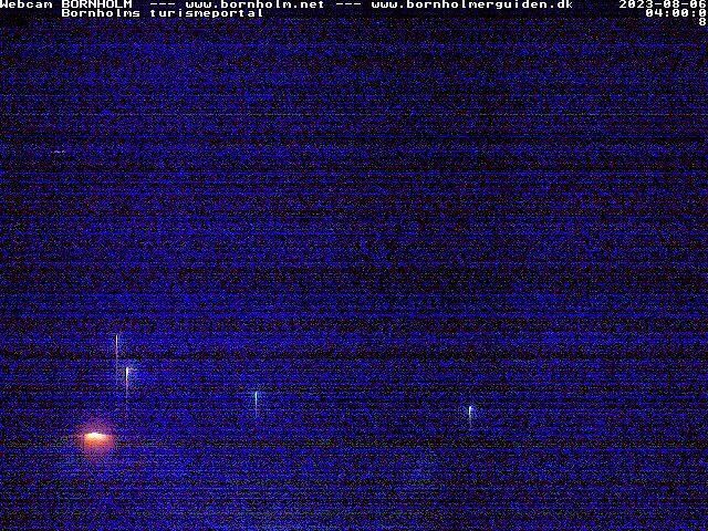 Bornholm webcam - Bornholm Beach webcam, Hovedstaden, Bornholm